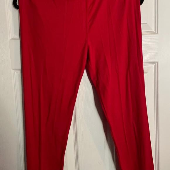 TC leggings true red never worn, no tags